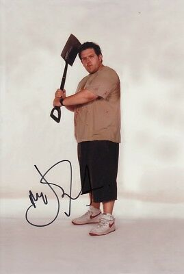 NICK FROST signed Autogramm 20x30cm SHAUN OF THE DEAD In Person COA