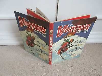 The Victor Annual/Book 1977- good Condition- Unclipped and inscription free