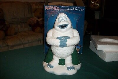 """Enesco Cookie Jar """"BUMBLE"""" 104539 2002 Rudolph and the Island of Misfit Toys"""