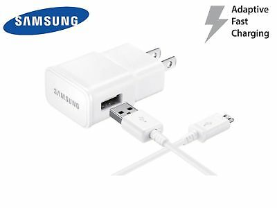 OEM Fast Rapid Wall Charger 3 Ft Cable For Samsung Galaxy S6 S7 Edge Note4 Note5