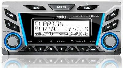 Clarion M606 Marine Audio Multi Zone Digital Media Receiver