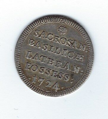 1724 Papal States Grosso Benedict XIII Ber.2574, KM794