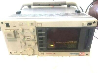 Tektronix TFP2 Fibermaster w/ OTDR Optics Module Option 11 , 16 work fine.