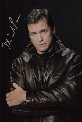 MICHAEL PARE signed Autogramm 20x30cm STREETS OF FIRE in Person autograph COA