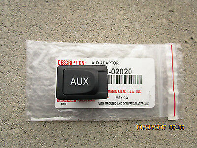 10 - 13 Toyota Highlander Limited Auxiliary Aux Adapter & Stereo Jack New 02020