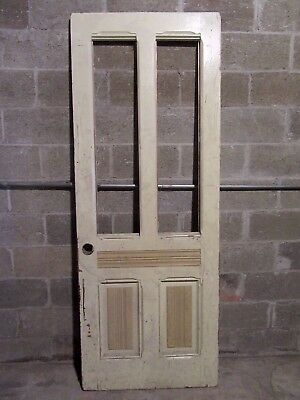 ~  Antique  Victorian Entry Door ~  31.75 X 83  ~ Architectural Salvage  ~