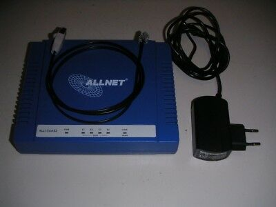 Allnet ALL126AS2 VDSL2-Modem max. 100Mbits/S