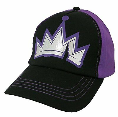 Disney Girls Descendants One Size Fit Purple and Black Baseball Cap Hat