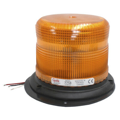 Grote EMERGENCY LIGHTING, YELLOW, LOW PROFILE, EPOXY FILLED, REINFORCED NYLON