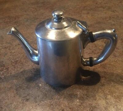 Wear Brite Nickel Silver TEAPOT