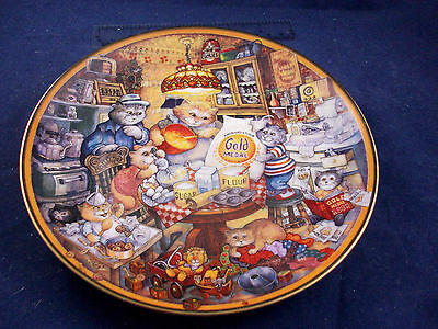 GOLD MEDAL FLOUR 115TH ANNIVERSARY Collector Plate BILL BELL FRANKLIN MINT Cat