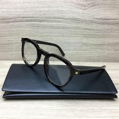 Saint Laurent SL 52 SL52 Eyeglasses Dark Havana 086 Authentic 50mm