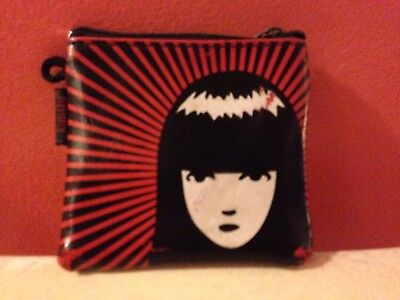 Small Rare Emily the Strange Coin Purse, Slightly Used