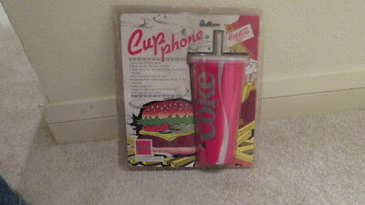 Coca Cola Cup Phone Still In Packaging 1987