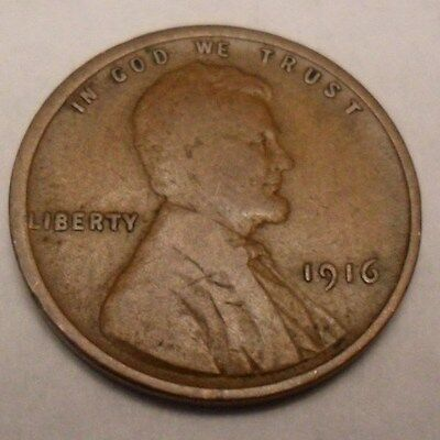 1916 P Lincoln Wheat Cent / Penny   *AG OR BETTER*   **FREE SHIPPING**
