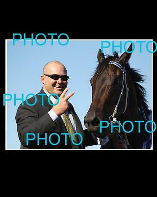 Black Caviar Large Horse Racing Action Photo 2