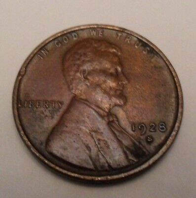 1928 S Lincoln Wheat Cent / Penny *AG OR BETTER*  **FREE SHIPPING**