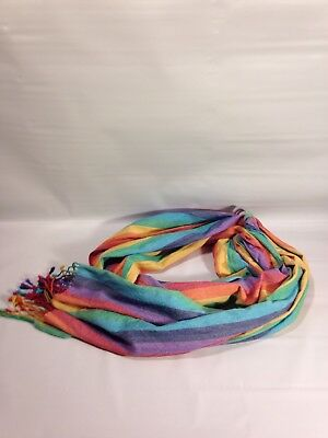 Hip Baby Wrap Ring Sling Baby Carrier for Infants and Toddlers Summer Rainbow