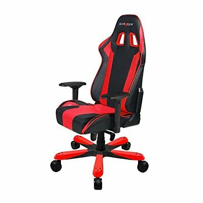 DXRacer King Series OH/KS06/NR Racing Bucket Seat Big Tall Gaming Chair RED