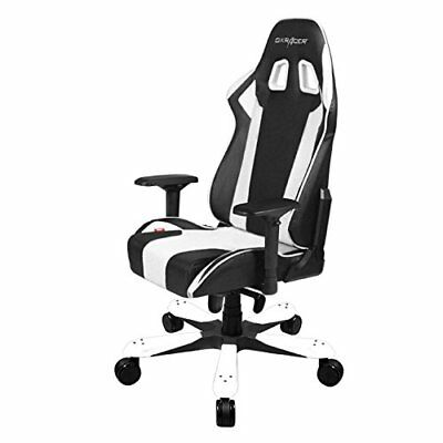 DXRacer King Series OH/KS06/NW Racing Bucket Seat Big Tall Gaming Chair WHITE