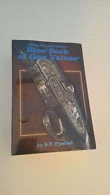 New Blue Book Of Gun Values 37th Edition S.P. Fjestad NEW in Wrapper