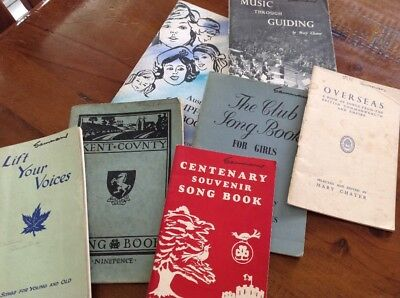 The Girl Guides Association Song Books Boosey & Hawkes Club Songs Kent County
