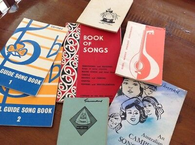 The Girl Guides Association Song Books 1958 1970 1956 Book of Songs Rangers