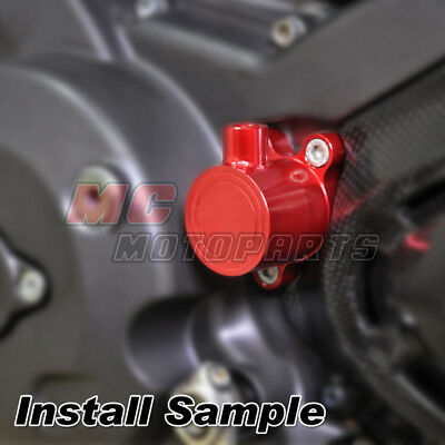 CNC Red Clutch Slave Cylinder For Ducati Monster 1100 S 695 696 796 All Year