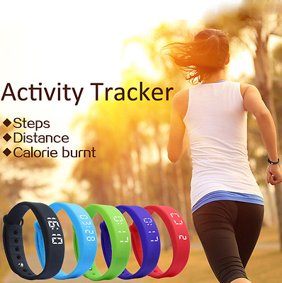 Latest Kids Fitbit Style Activity Tracker -Children Pedometer Step Counter Watch
