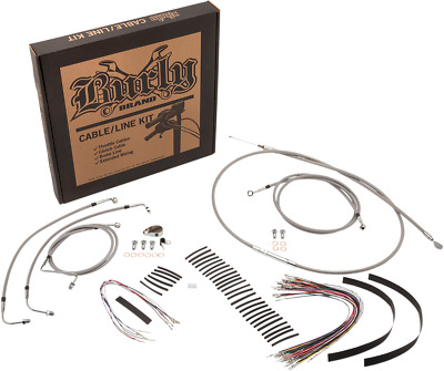 BURLY BRAND B30-1102 Cable and Brake Line Kits