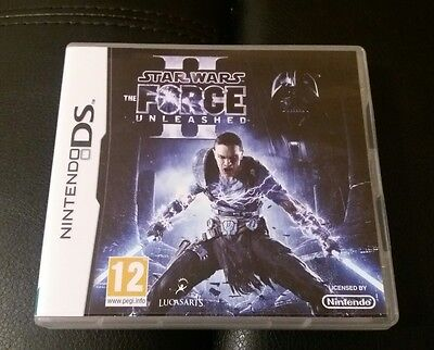 Nintendo Ds Game Star Wars The Force Unleased Ii 2 Works On Ds Lite Dsi 3Ds 2Ds