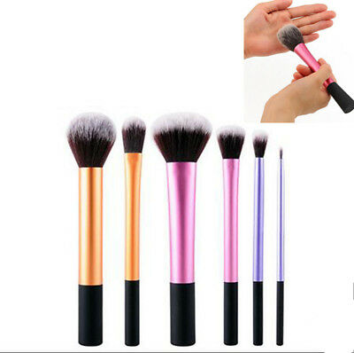 Hot Real TECHNIQUES Makeup Brushes Powder Foundation Travel Essential d1