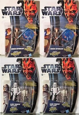 #20  CW2-CLONE TROOPER Star Wars-Movie Heroes-Action-Figur-Hasbro: 2x, 3x, 4x