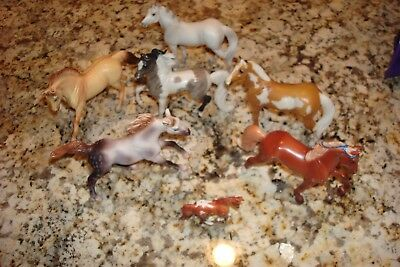 Breyer Horse Lot of 6 Stablemates & 1 Mini Horse