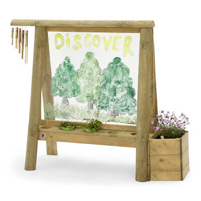 Plum Wooden Discovery Create & Paint Easel NEW