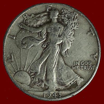 1943-P Walking Liberty 90% Silver Half Ships Free. Buy 5 for $2 off