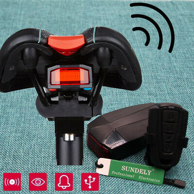 Remote Control Bicycle Bike Security Lock Wireless 4 In 1 Alarm Anti - theft Hot