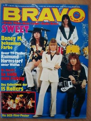 BRAVO 13 1977 The Sweet Bay City Rollers Sophia Loren Boney M. Nastassja Kinski