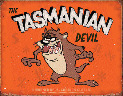 New Tin Signs TSN2180 Tasmanian Devil