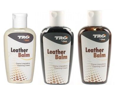 TRG Grison Leather Balm Cream Sofa Restorer Chair Car Seat Recoloring Shoe 125m