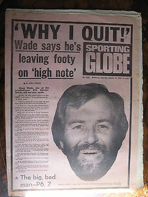 Sporting Globe JAN 10 1976 Doug Wade WHY I QUIT