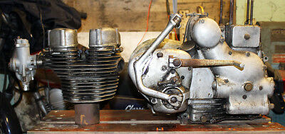 Royal Enfield Works Replica motorcycle pre '65 Trials + lots of RE spares