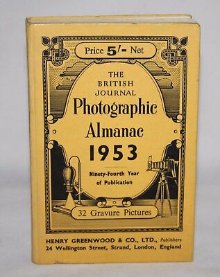 The British Journal Photographic Almanac 1953 - Arthur Dalladay