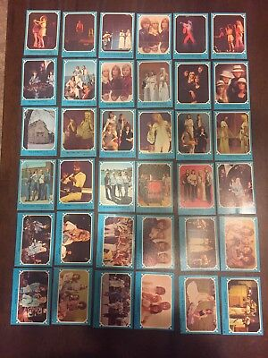 """1976 """"ABBA - Series Blue Set. 36  Cards In Total."""