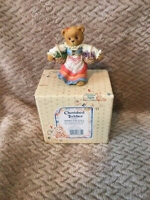 """Cherished Teddies Sophia Italy""""Like Grapes On The Vine Our Friendship Is Divine"""""""
