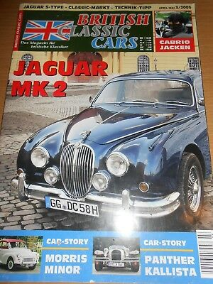 Jaguar MK2, Morris Minor, Panther Kallista