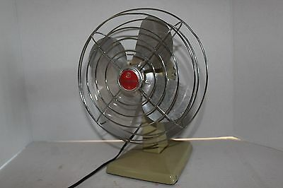 Vintage Toastmaster Model 5309 Table Fan 100% Original and Complete  12 Photos