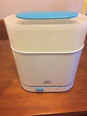 Philips AVENT 3-in-1 Electric Steam Sterilizer BABY BOTTLE CLEANER!