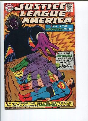 Justice League Of America #59   9.0 Vf/nm   Strictly Graded!  One Owner!