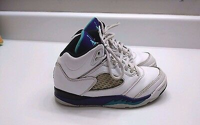 Rare Nike Air Jordan V retro 13.5C Grapes 440889 108 charlotte